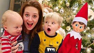 HUGE HOMECOMING SURPRISE! - Elf on the Shelf joke!
