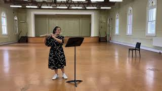 DOHNANYI - Passacaglia for Solo Flute Op. 48 No. 2   Lilly Yang Flute