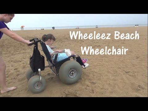Beach Wheelchair Review - Wheeleez - Special Needs Virginia Beach, VA