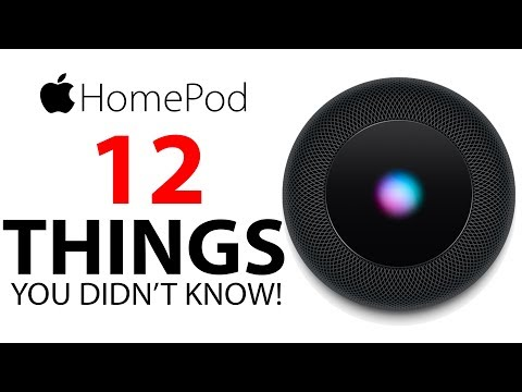 Apple HomePod - 12 Things You DIDN'T KNOW!
