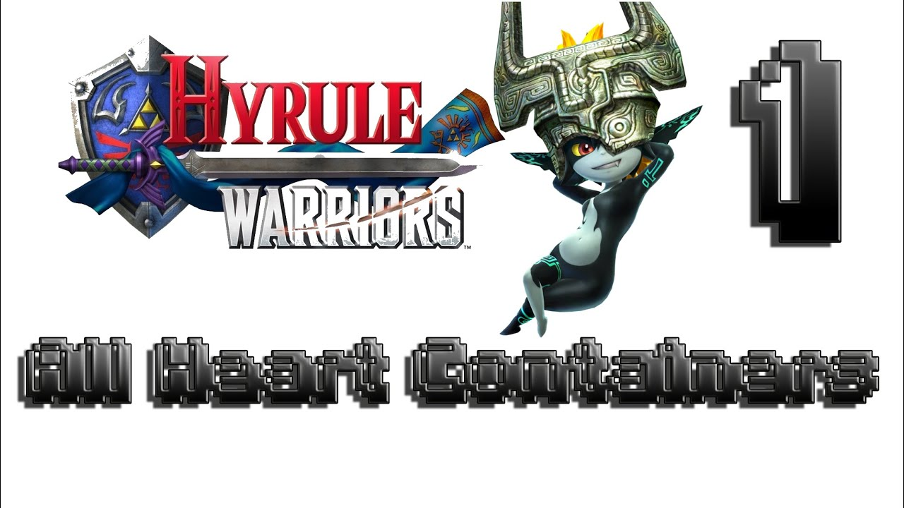 Hyrule Warriors 100 Walkthrough Heart Container 1 Midna All Heart Containers Legend Mode Stage 10 Youtube