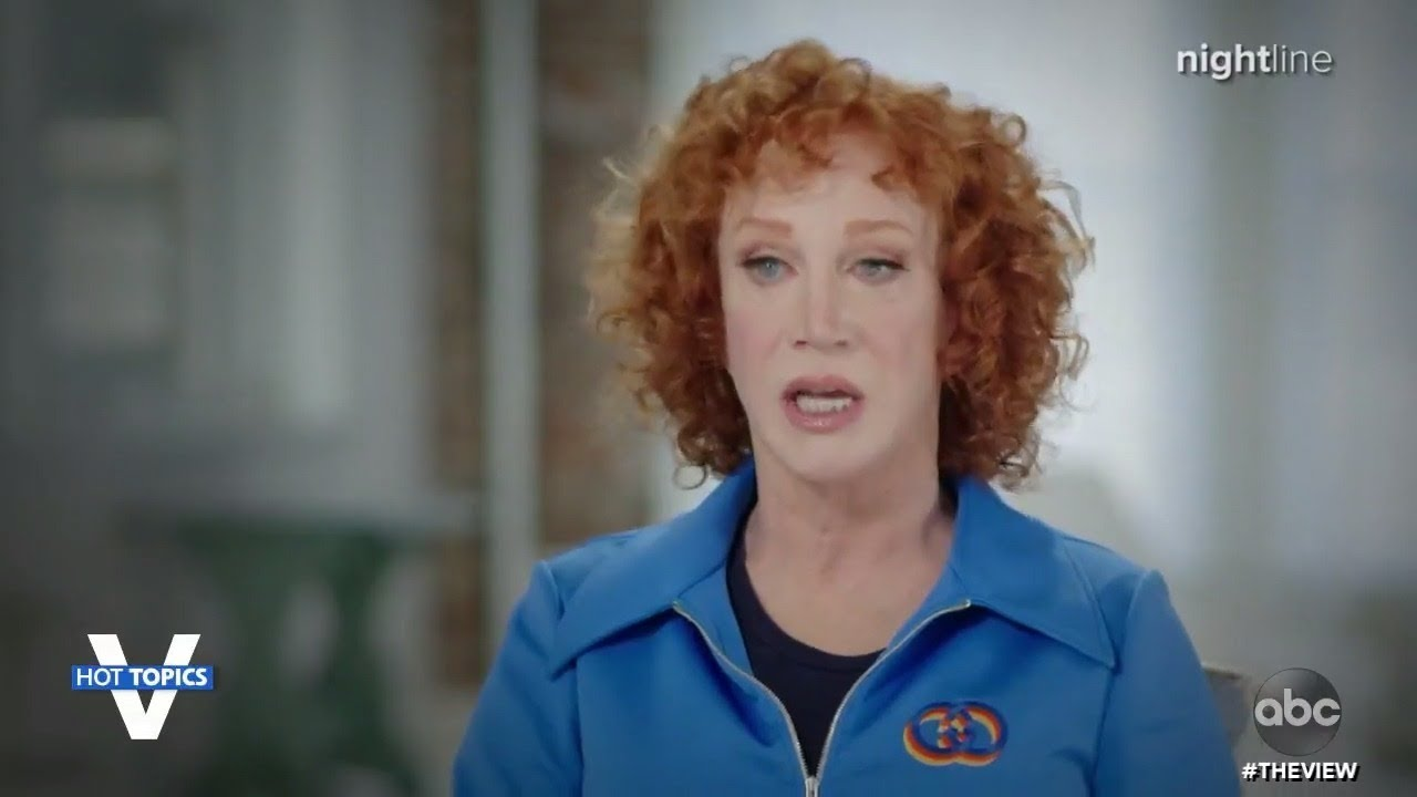 Kathy Griffin reveals lung cancer diagnosis