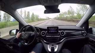 Mercedes-Benz V-Класс - Автопермь тест-драйв