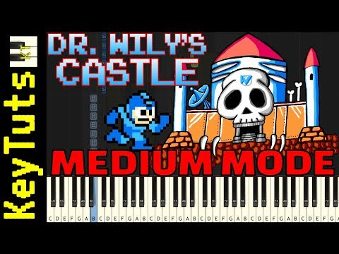 Learn to Play Dr. Wily's Castle from Mega Man - Medium Mode