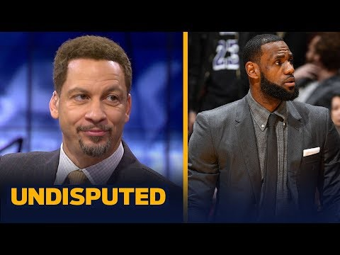 Chris Broussard says LeBron's injury helps his MVP case if he can uplift Lakers   NBA   UNDISPUTED