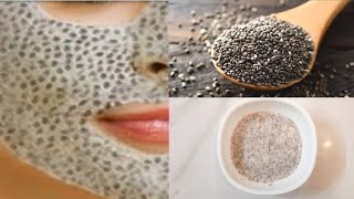 Skin Whitening Chia Seeds Face Mask Chia Seeds Face Mask for Youthful Spotless and Glowing Skin