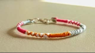 DIY Wrap Friendship Bracelet