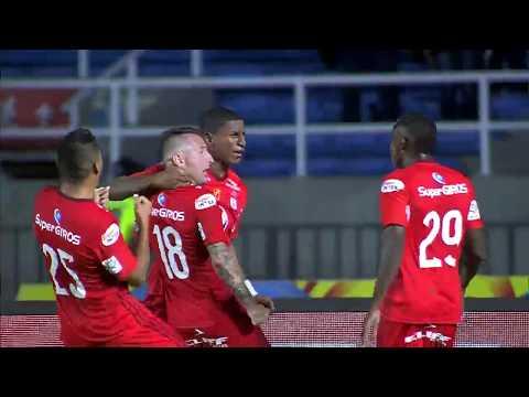 América de Cali 3 - 1 Atlético Huila. Fecha 11 Liga Aguila 2017 II | Win Sports