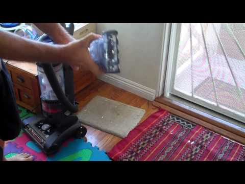 Using wand attachments of Hoover WindTunnel Vacuum