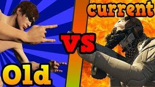 Old vs current GTA Online