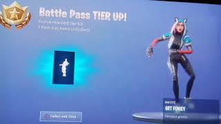 FORTNITE SEASON 7 - Leveling UP!!! TIER 63 GET FUNKY DANCE