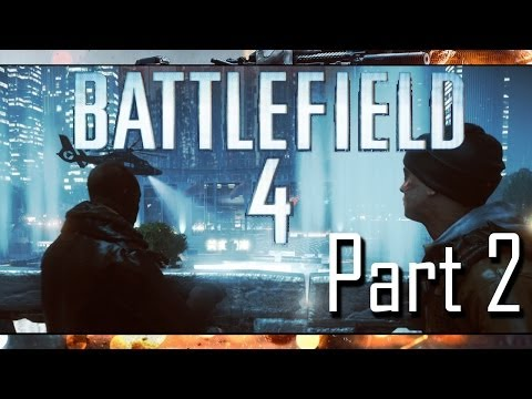 Battlefield 4 Gameplay Playthrough w/ Facecam Part 2 - Shanghai (Mission 2)
