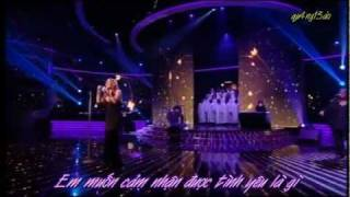 [Vietsub] I want to know what love is - Mariah Carey - Live at The X Factor 2009 [qu4ng13ao]