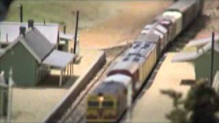 Gunning  NSWGR Part 6 - Hobsons Bay 2005 - Australian Model Railway Layout - Modelleisenbahn
