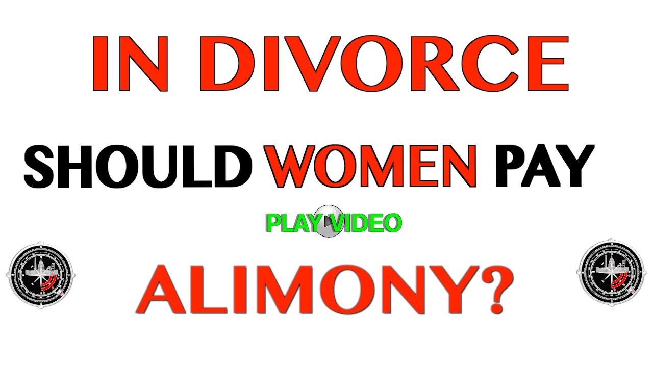 Women who pay alimony