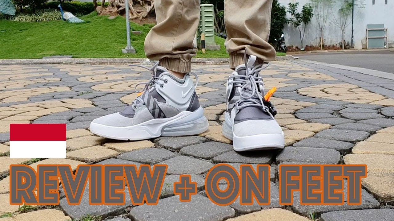 Nike Air Force 270 Review + Epic On Foot