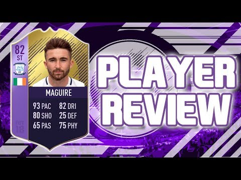 FIFA 18  POTY 82 RATED SEAN MAGUIRE!!! PLAYER !!! FIFA 18 ULTIMATE TEAM PLAYER !!!