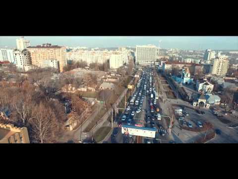 Ambuteiaje Chisinau. Traffic Jam. Moldova