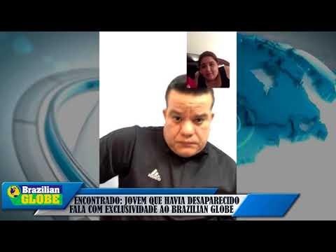 Encontrado: Garoto que havia desaparecido fala com exclusividade ao jornal Brazilian Globe