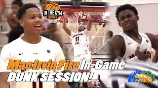 They had an In-Game DUNK SESSION! Mac Irvin with a Casual BLOW-OUT Win!
