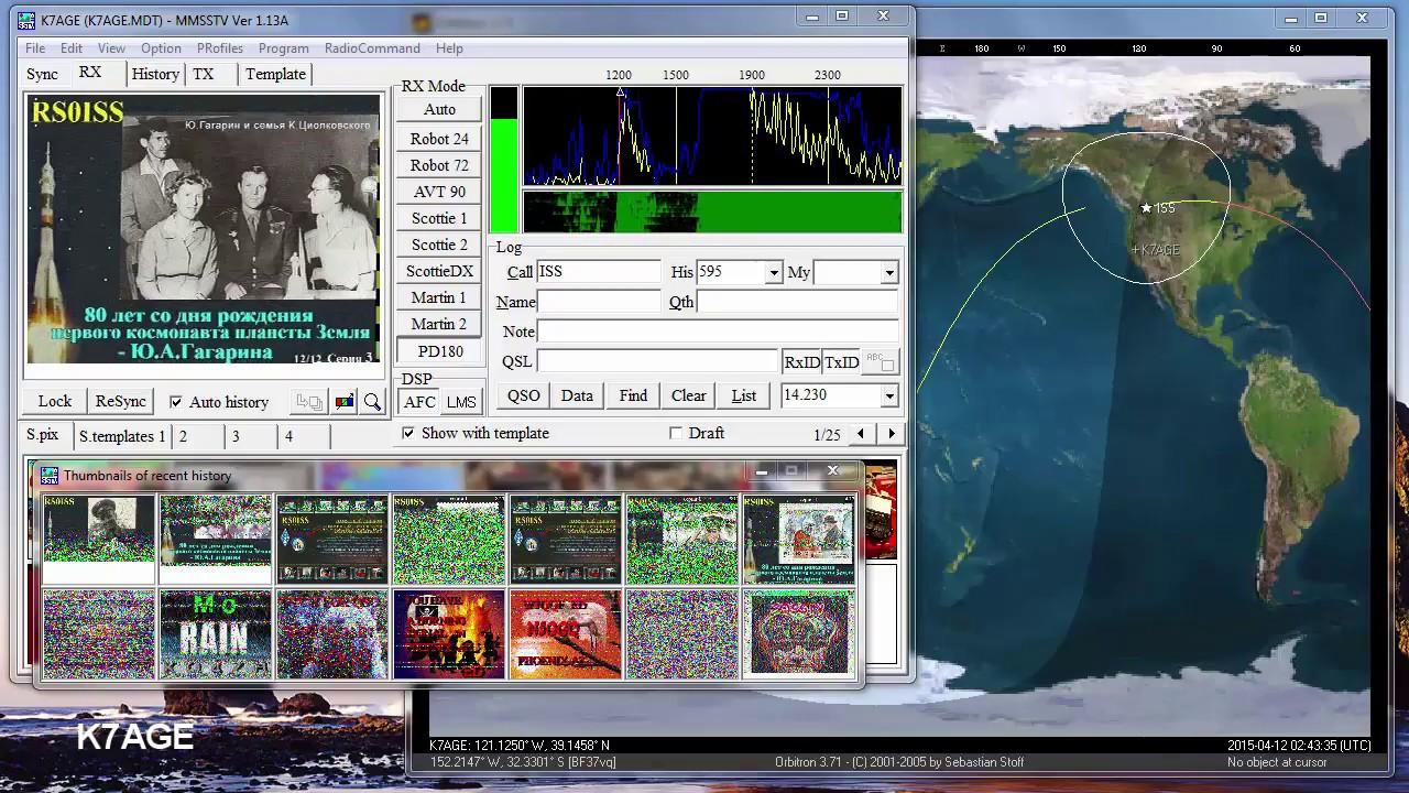 ISS SSTV Practice Decoding