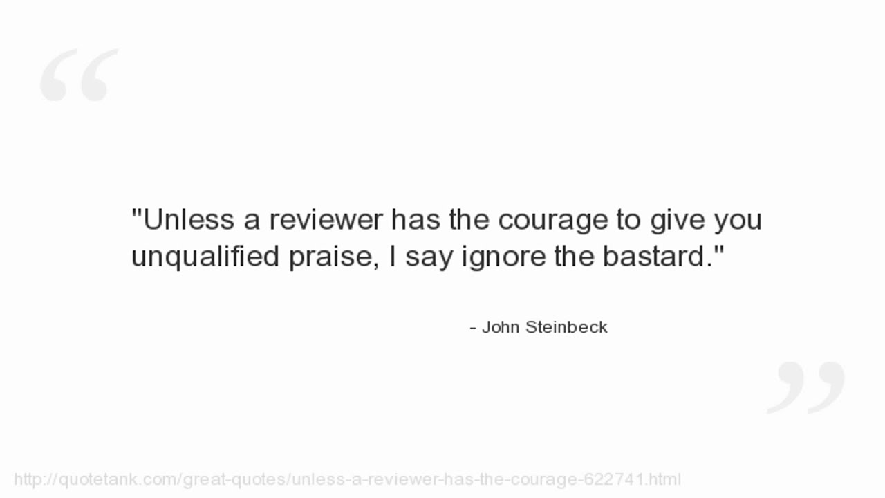 John Steinbeck Quotes - YouTube