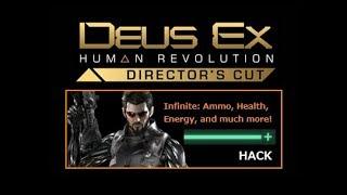 Deus Ex: Human Revolution - Hack Updated - Infinite Ammo and more!