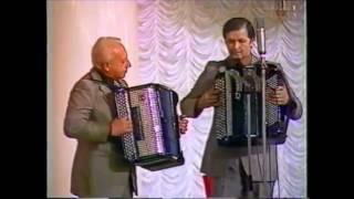 Дуэт баянистов: Анатолий Шалаев и Владимир Нечаюк. 1986 год