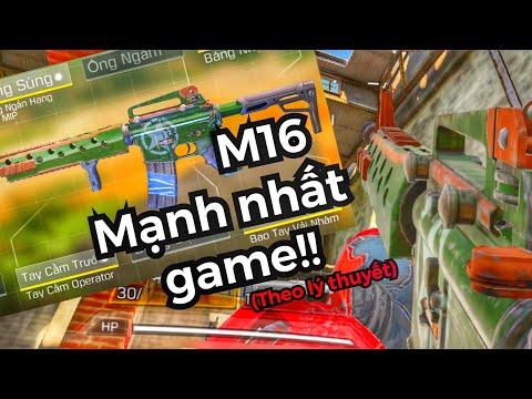 Call of duty mobile | M16 là AR mạnh nhất game | build súng #10