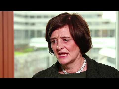 Cherie Blair speaks with the European Investment Bank on women