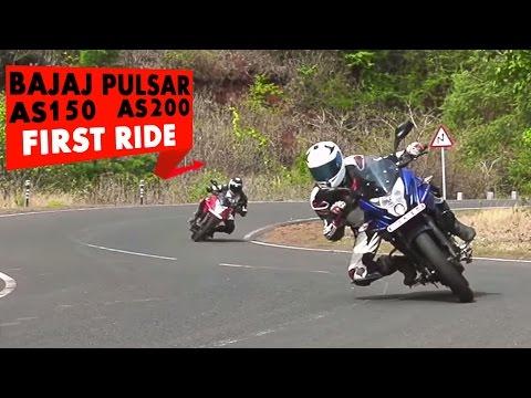 Bajaj Pulsar AS 150 and Pulsar AS 200 : First Impressions : PowerDrift