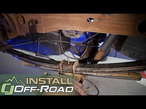Haul/Tow Better with a Zone Offroad Products Rear Add-A-Leaf Kit Install for your 1999-18 Silverado