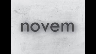 Novem-Μες την τρέλα αυτή