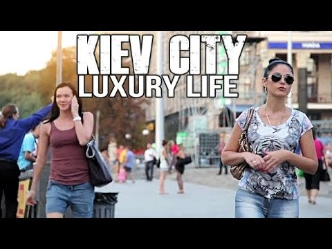 Kiev City Of Ukraine Walking Tour (FULL HD)