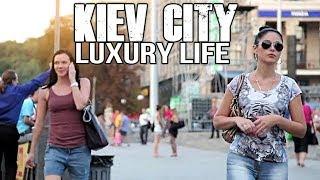 Kiev City Of Ukraine Walking Tour (FULL HD)