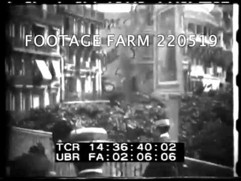 Paris 1900 World's Fair, Moving Boardwalk - 220519 21 | Footage Farm