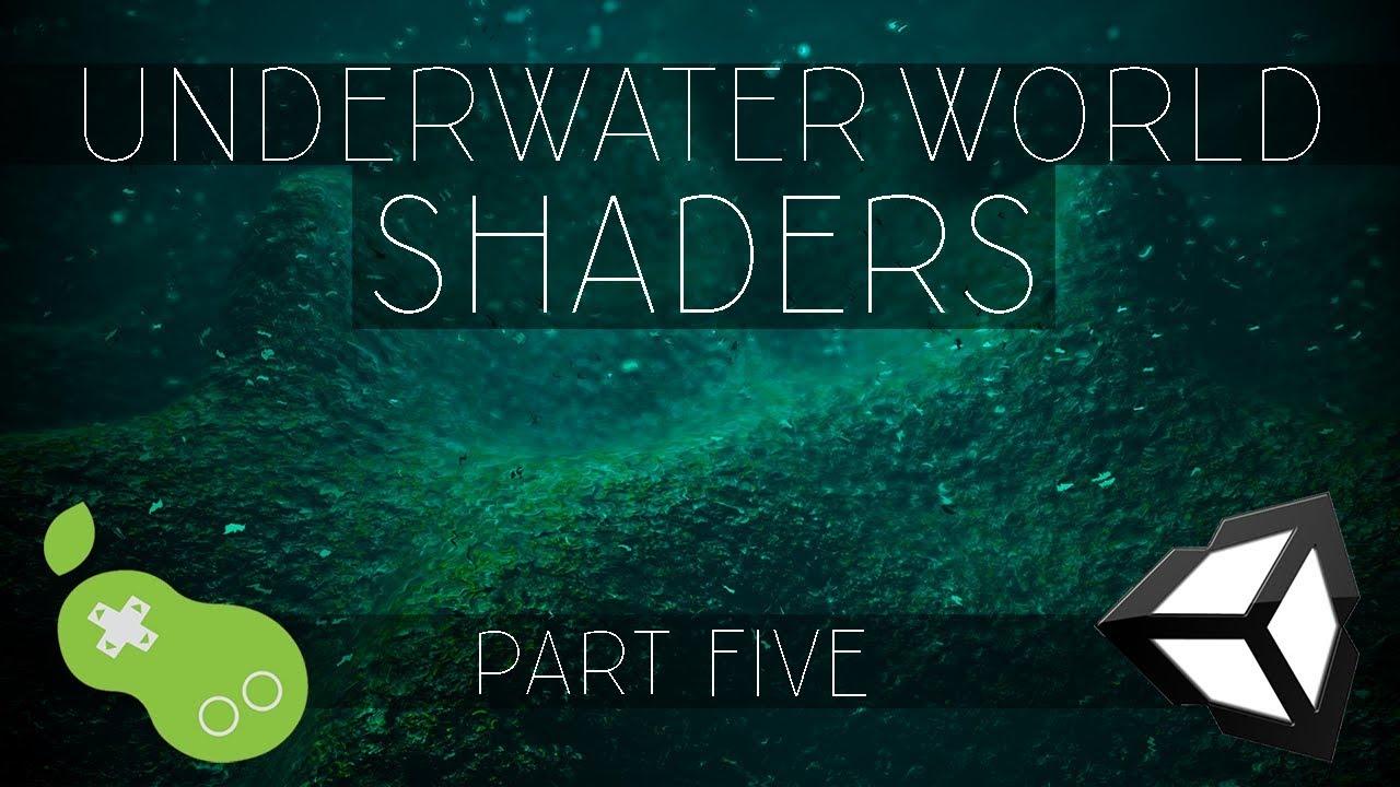 Underwater World Shaders - Unity CG/C# Tutorial [Part 5 - Camera Depth Fog]