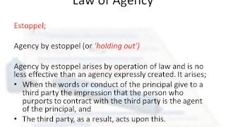 Law of Agency in Ireland