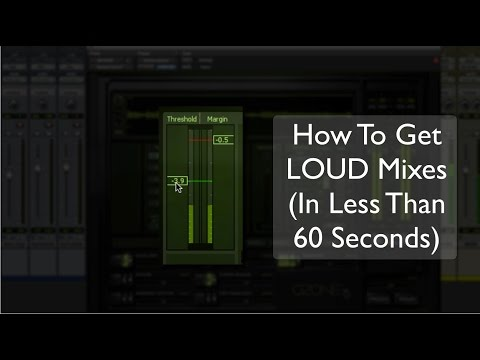 How To Get Loud Mixes (In Less Than 60 Seconds) – TheRecordingRevolution.com