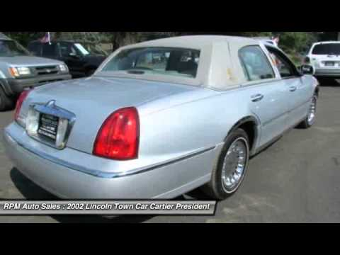2002 Lincoln Town Car Cartier Presidential Bayville Nj 08721 Youtube
