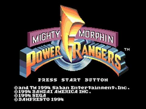 Power Rangers The Movie (Sega Genesis)