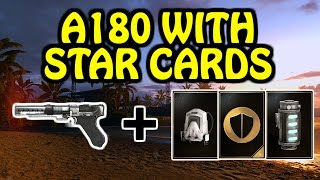 A180 WITH STAR CARDS?! - Star Wars Battlefront