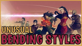 Unusual Bending Styles (Avatar)
