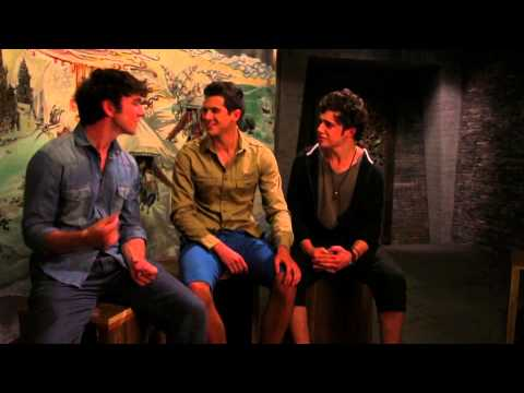 AFTER THE DARK Movie -George Blagden (Vikings), Taser Hassan, Toby Sebastian Sing for Us -Funny Clip