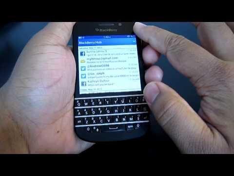 Blackberry Q10/Z10/Q5 Hub trick (refreshing/reset the hub)