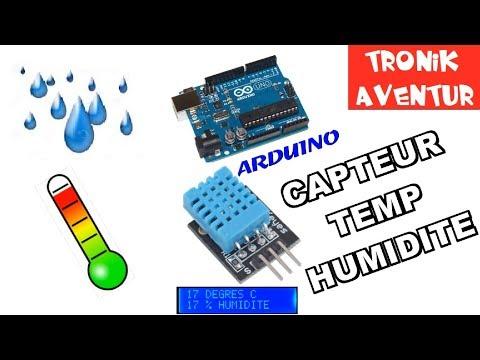 TRONIK AVENTUR 209 - DHT11 CAPTEUR TEMPERATURE HUMIDITE ARDUINO TUTO MODE D'EMPLOI