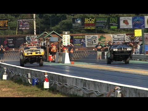 Drag Racing On 275 Radials - ORP Street Machine Shootout