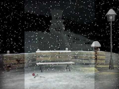 **Winterlied**  Schneemann baun ...