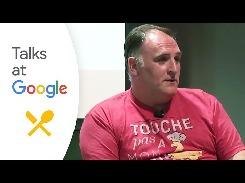 "Chef José Andrés: ""ThinkFoodGroup"" 