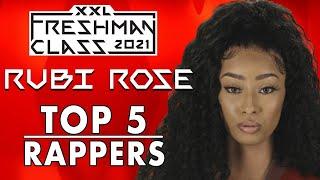 Rubi Rose's Top Five Favorite Rappers